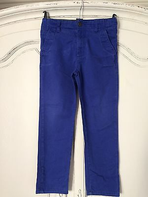 M&s Bright Blue Jeans Age 7-8