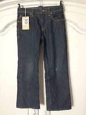 Scotch Shrunk Dark Waxy Feel  Jeans Age 8