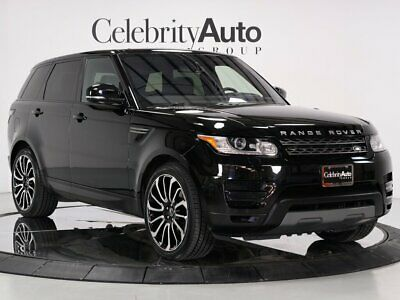 "2016 Range Rover Sport 22"" ATB Wheels Pano Roof 2016 LAND ROVER RANGE ROVER SPORT 22"" ATB WHEELS PANO ROOF"