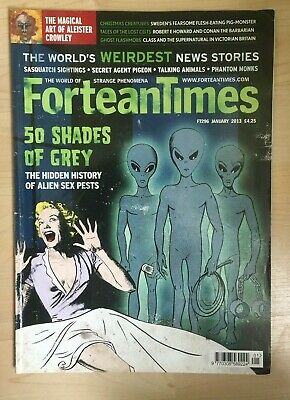 Fortean Times FT 296 Jan 2013 Magical Art of Aleister Crowley,Sasquatch Sighting
