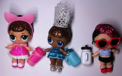 LOL Surprise Dolls RARE VHTF Glitter Series Fancy ROCKER  Miss Baby BUNDLE LOT