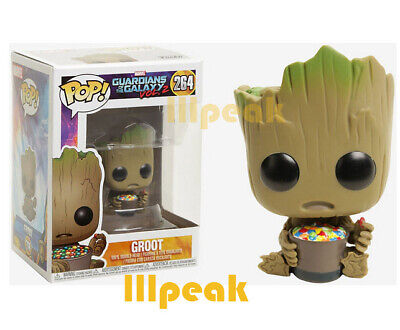 I am Groot With Candy Bowl Guardians of the Galaxy Vol. 2 Funko Pop Marvel #264