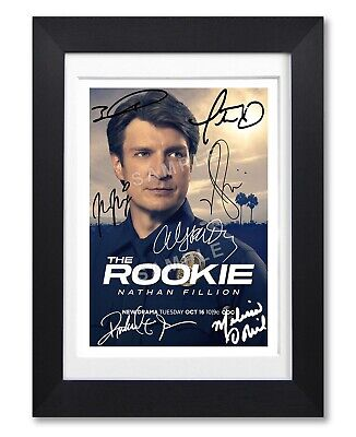 The Rookie Cast Signed Poster Tv Show Series Season Print Photo Autograph Gift