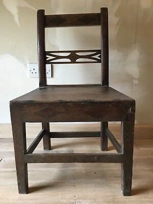 Early 18th Century Oak Anglessey Talwrn chair dining bedroom kitchen occasional