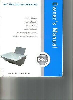DELL PRINTER A10 922 DRIVERS PC