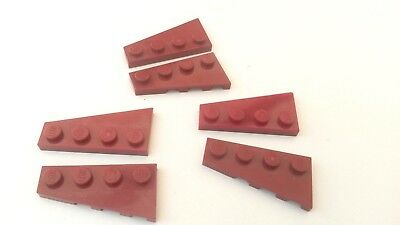 used condition 65x Red Lego 1 x 2 Flat Plates BR286