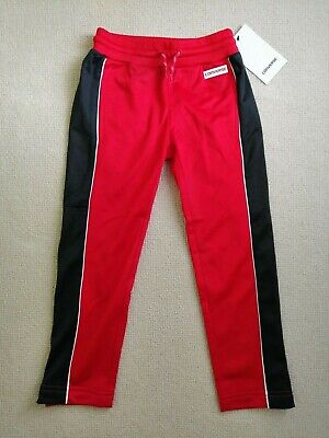 Converse Girls Red Tracksuit Bottoms - Age 4-5 - RRP £38 (BRAND NEW WITH TAGS!)