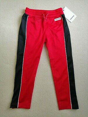 Converse Girls Red Tracksuit Bottoms/Joggers/Trousers - Age 4-5 - RRP £38 (NEW!)