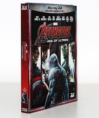 Avengers Age Of Ultron 3D ( Blu Ray 3D/2D ) Slipcase - Marvel