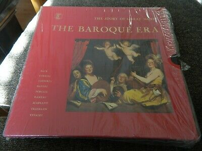 THE BAROQUE ERA,Time-Life,4 LP box The Story of Great Music Set -NEW SEALED!