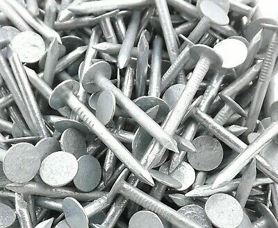 AVF QUALITY GALVANISED Clout Nail 3mm X 50mm 25-50-75-100-150-200-NAILS AVAILABL