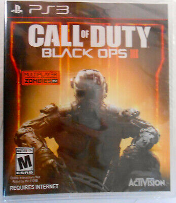 Call of Duty: Black Ops III - FREE SHIPPING - PlayStation 3, (PS3)