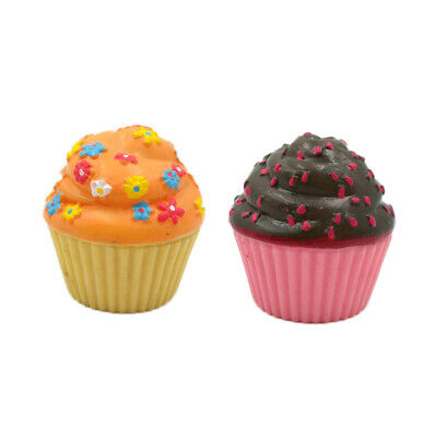 2pcs Cupcake Fit For 18'' American Girl Doll Wellie Wishers Berry Sweet Snack