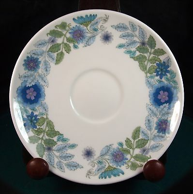 Wedgwood Clementine Tea Cup Saucer - 1st Quality - Excellent Condition