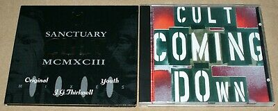 The Cult Coming Down CD Single 4 Tracks 1994 UK VGC