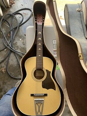 Harmony Stella Guitar Vintage With Case
