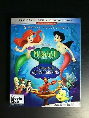 Little Mermaid II/ The Little Mermaid: Ariel's Beginning [Blu-ray] Brand New