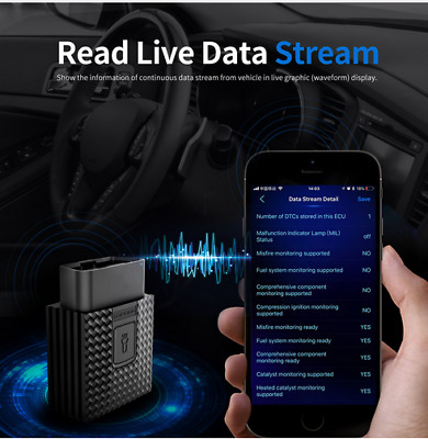 Artibox OBD2 Bluetooth Code Reader Scanner Android/IOS As Launch X431 BlueDriver