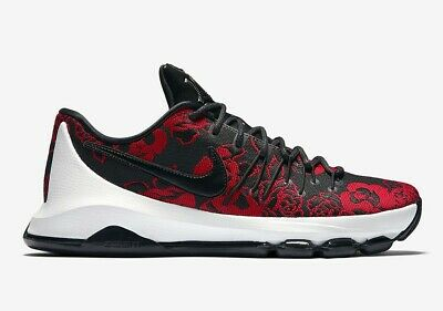 half off a23e8 9d750 Nike KD 8 EXT Red Floral VIII mens lifestyle sneakers Last size 12.5 806393- 004
