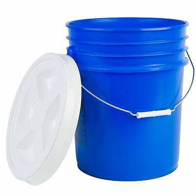 Hudson Exchange Premium 5 Gallon Bucket with Gamma Seal Lid, HDPE, Blue