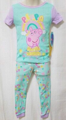 Peppa Pig Pajama Sleep Wear For Toddler Girls - Size 3T