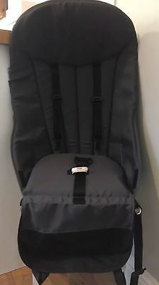 Bugaboo Cameleon 1 2 Charcoal Grey Pushchair Seat Unit Fabric Only Good Conditio