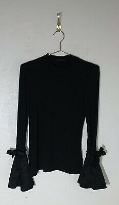 293d0c97 SHEIN WOMENS SIZE Large Black Bell Long Sleeve Boho Top A37 - $8.00 ...