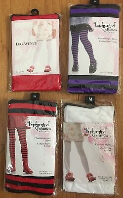 Enchanted Girls Tights Size Medium NEW