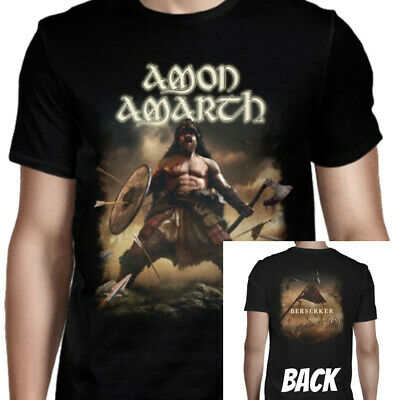 Amon Amarth Berserker Album Cover Two Sided Officially Licensed Adult T-Shirt