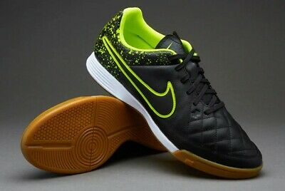 86942f8e9 NIKE JR TIEMPO Genio Leather Ic Youth Indoor Soccer Shoes 003 ...
