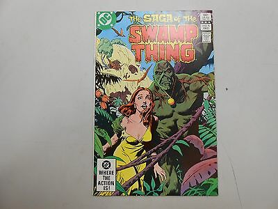 The Saga of The Swamp Thing #8! (1982, DC)! NM9.2-! high grade late bronze age!