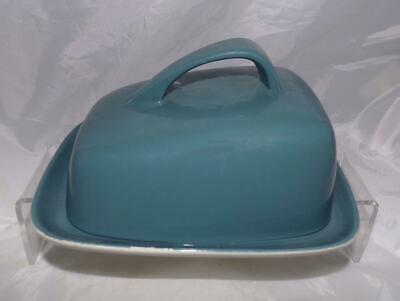 Poole Pottery Contour Design Cheese Dish Glazed in Cameo Blue Moon