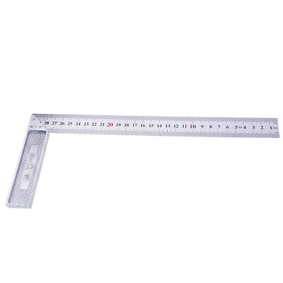 Heavy Duty 90 Degree Metal Steel Try Square Measure Ruler Carpenter Tools