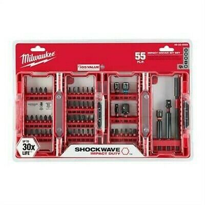 Milwaukee 48-32-4028 Shockwave Impact Duty Driver Bit Set (55-Piece)