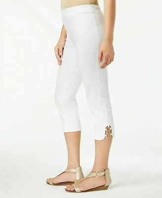 JM Collection Women's Pull-On Capri and Ankle Pants,