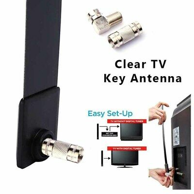 Clear TV Key Digital Indoor HDTV Free TV Antenna Stick Television As Seen on TV