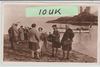 Skye - The Royal Landing - Scotland - Real Photo - Superb Postcard # 200