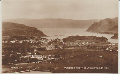 Scotland - Skye - Portree From Golf Course - Real Photo - Postcard #44