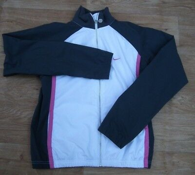 Nike Girls Pink Lightweight Sports Jacket Size XL Girls 13/15 Years