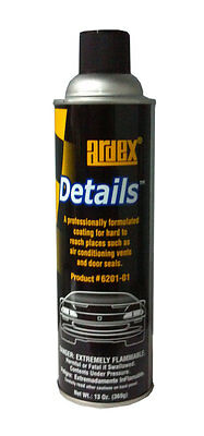 Ardex Details High Quality Interior Dressing Hard To Reach Places AutoDetailing