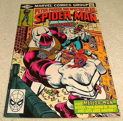 Marvel Comics Peter Parker The Spectacular Spiderman # 41 Vf 1976