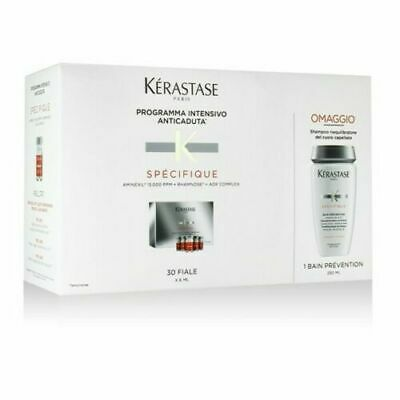 Kerastase Anticaduta Aminexil Kit Specifique 30 Fiale + Bain Prevention Omaggio