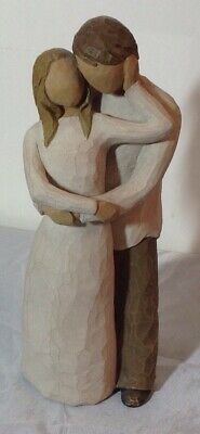Together Willow Tree Figurine by Susan Lordi Demdaco Man Woman in Love 2000