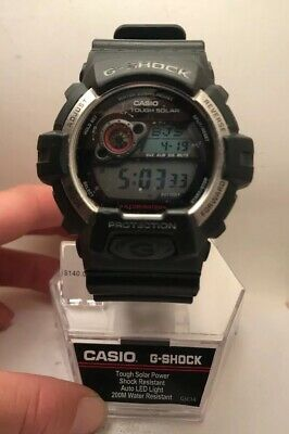 Casio G-Shock Men's Tough Solar Digital Black Resin Band 52Mm Watch Gr8900-1-H75