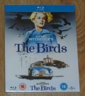 The Birds (Blu-ray) steelbook with slip case. NEW & SEALED.