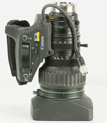"Canon YH19X6.7 KRS IX12 19x IF Zoom Lens for 1/2"" video camera"