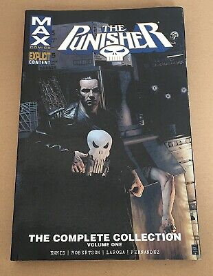 The Punisher Max The Complete Collection – Volume 1 - Graphic Novel Paperback