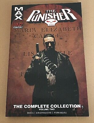 The Punisher Max The Complete Collection – Volume 2 - Graphic Novel Paperback