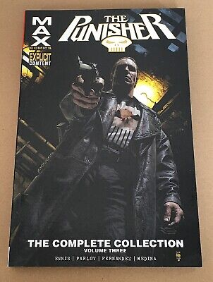The Punisher Max The Complete Collection – Volume 3 - Graphic Novel Paperback