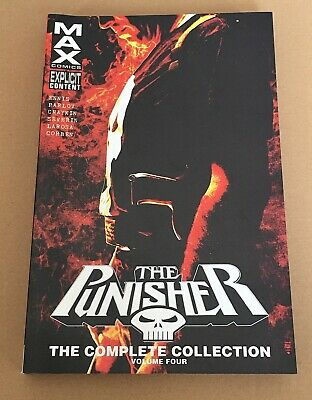 The Punisher Max The Complete Collection – Volume 4 - Graphic Novel Paperback